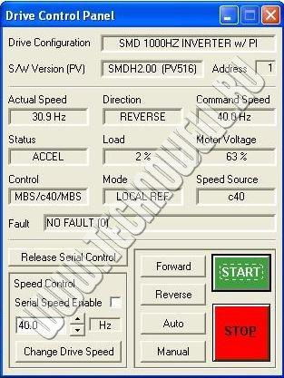 Techlink - управление частотным приводом Lenze с помощью компьютера
